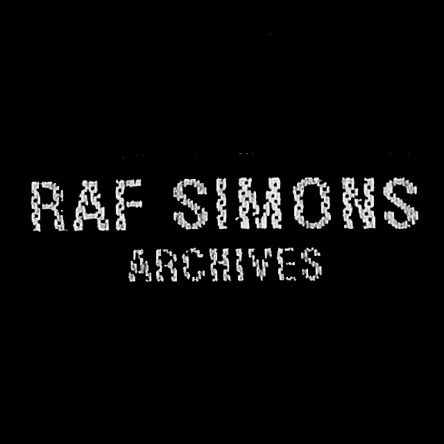 RAF SIMONS ARCHIVES