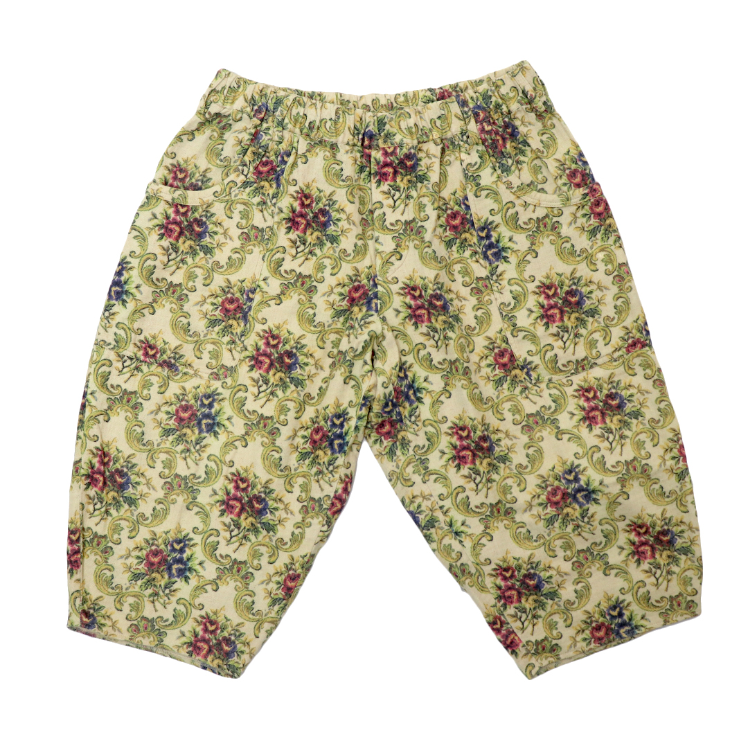 Frower Pattern Pants