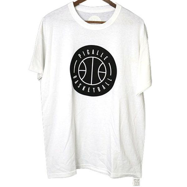 バスケットボールプリントTシャツ