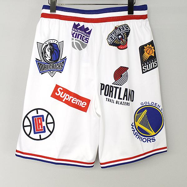 NBA Teams Authentic Sport ゲームショーツ ハーフパンツ
