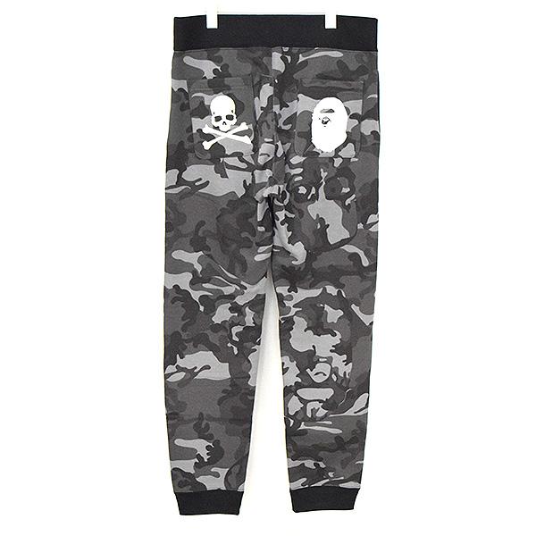 ×master mind JAPAN SLIM SWEAT PANTS ロゴ刺繍スウェットパンツ
