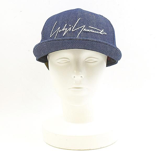 ロゴワッペンデニムキャップ 帽子