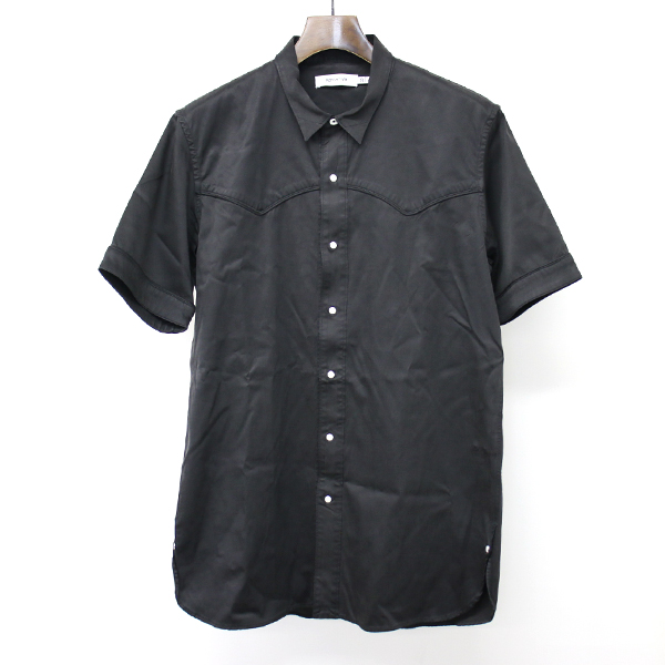 RANCHER SHIRT SS C/C/P CHINO STRETCH ストレッチウエスタンランチャーシャツ
