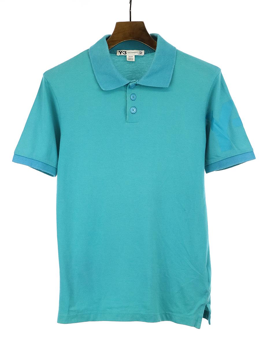 アームプリントポロシャツ