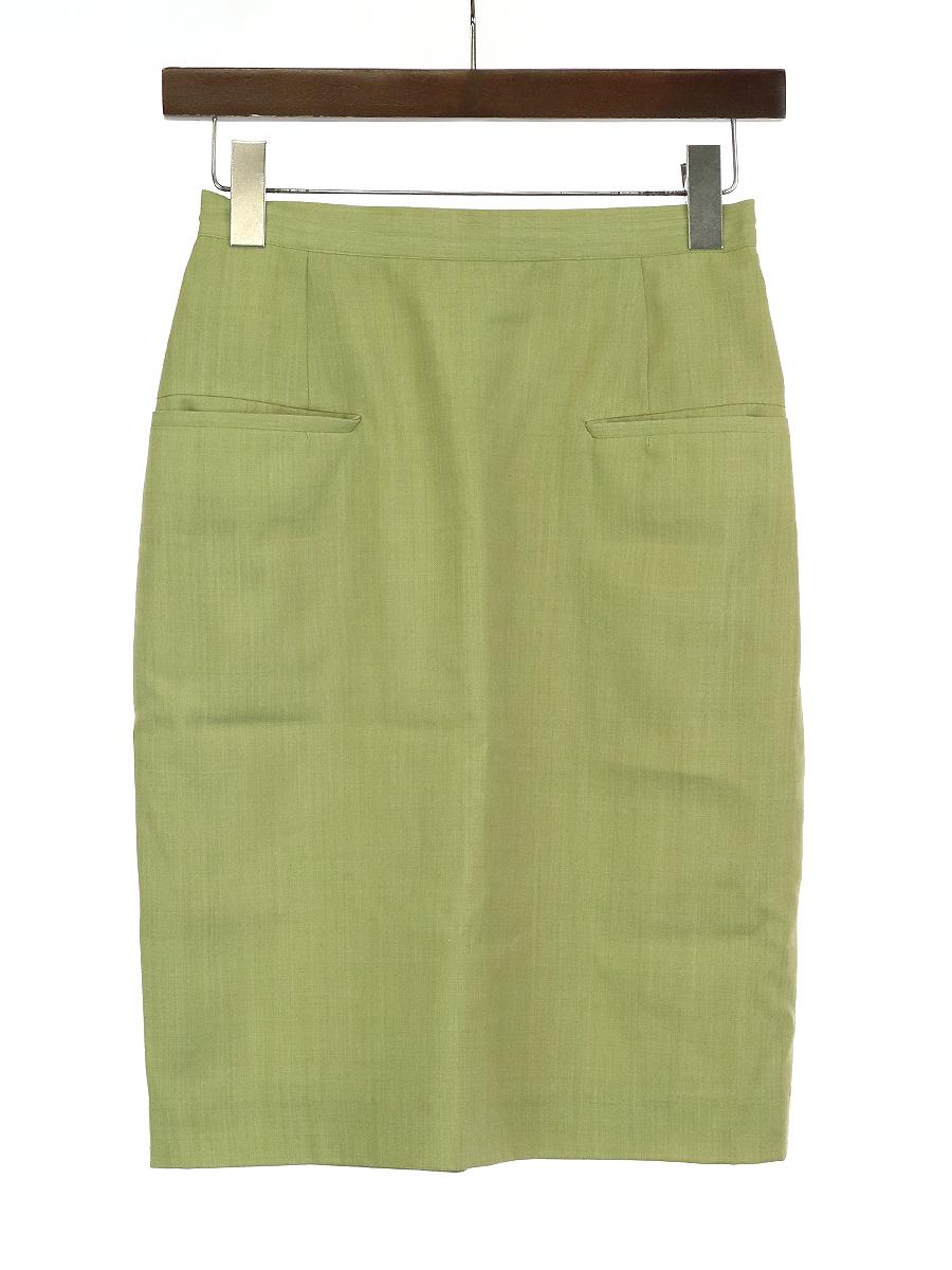 ウールタイトスカート