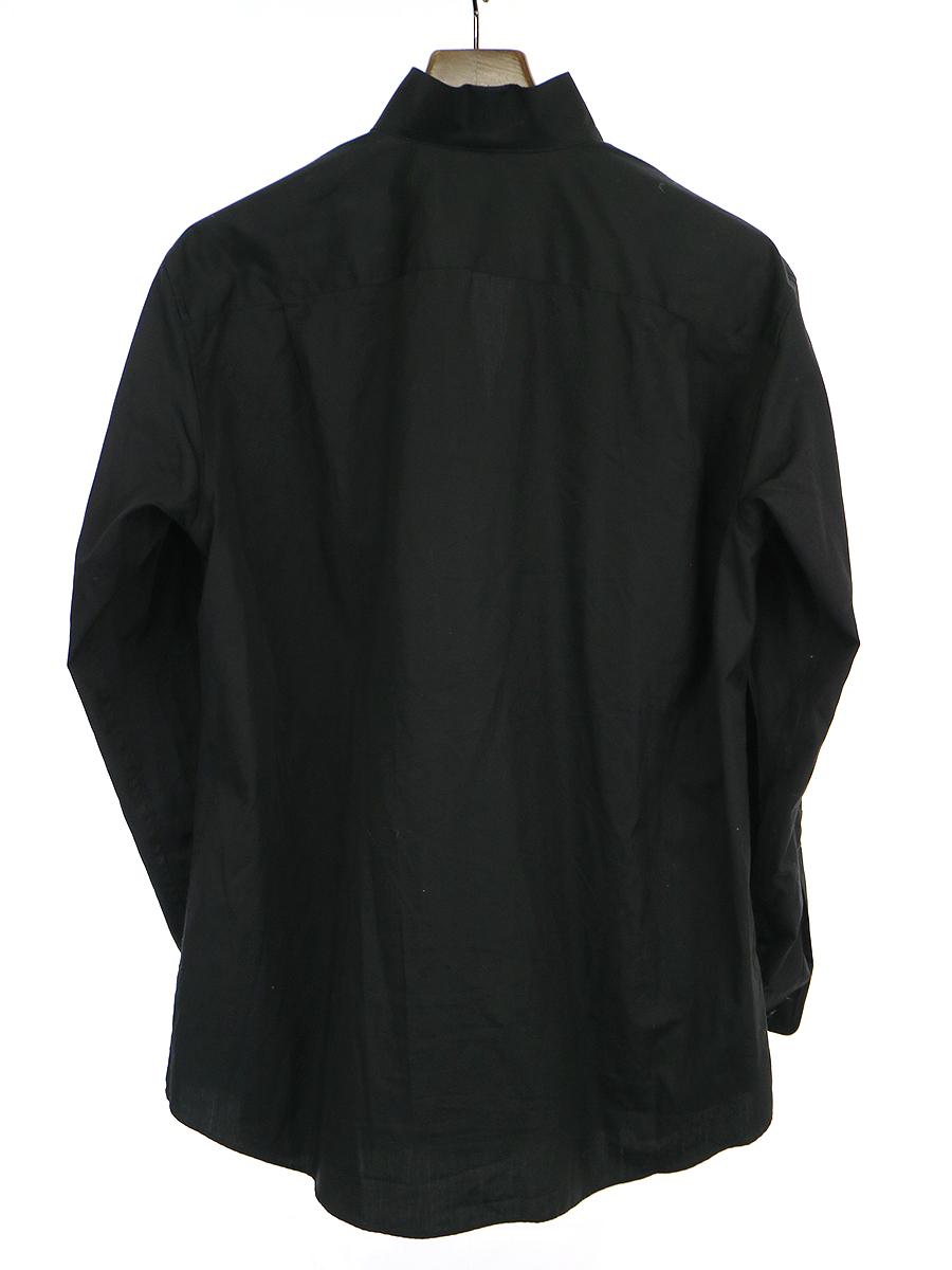 18SS LOOK9 ダブルブレストラップシャツ