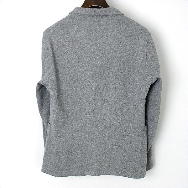 カシミヤ混ショールカラーニットジャケット