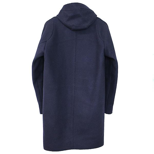 MILTON 中綿フーデッドメルトンウールコート