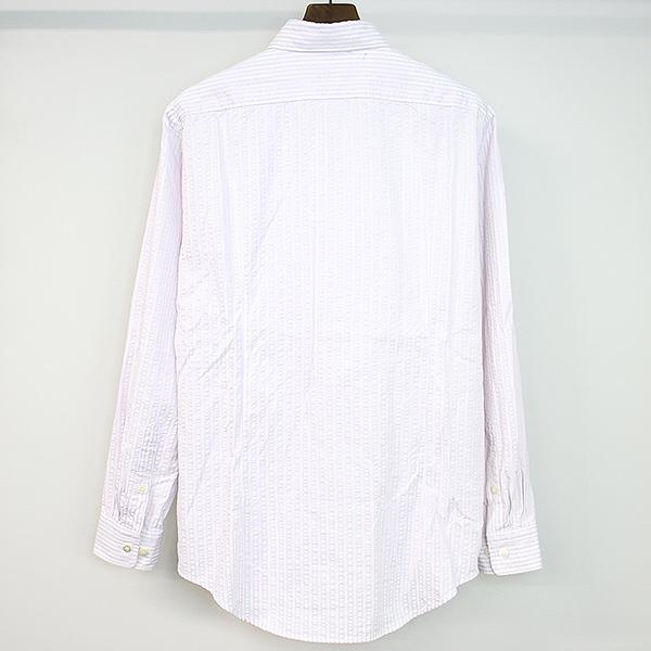 リバースシアサッカーシャツ