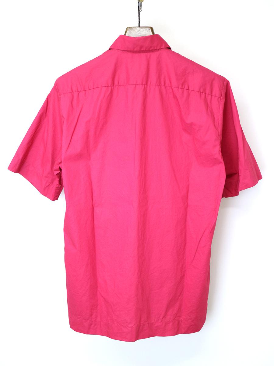 ボックスシルエットコットンブロードシャツ