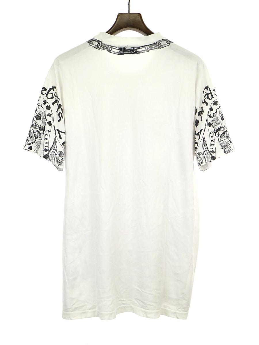カオスタトゥプリントTシャツ