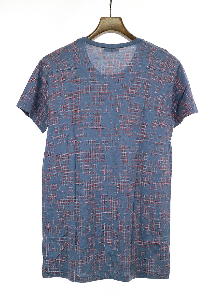 チェック柄Tシャツ