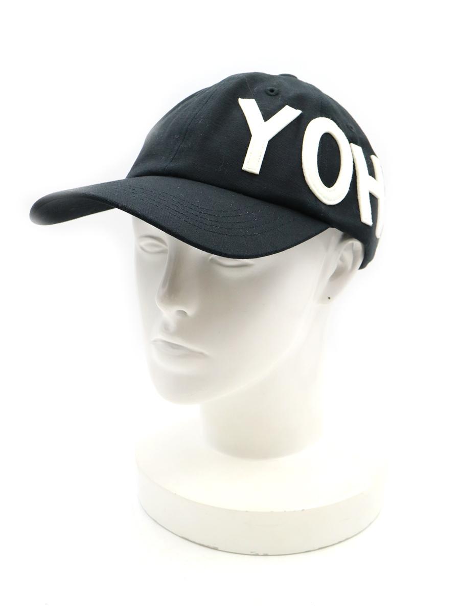 YOHJI CAP ロゴワッペンキャップ