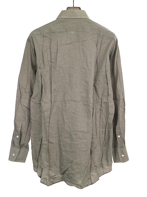 ポケットコットン長袖シャツ