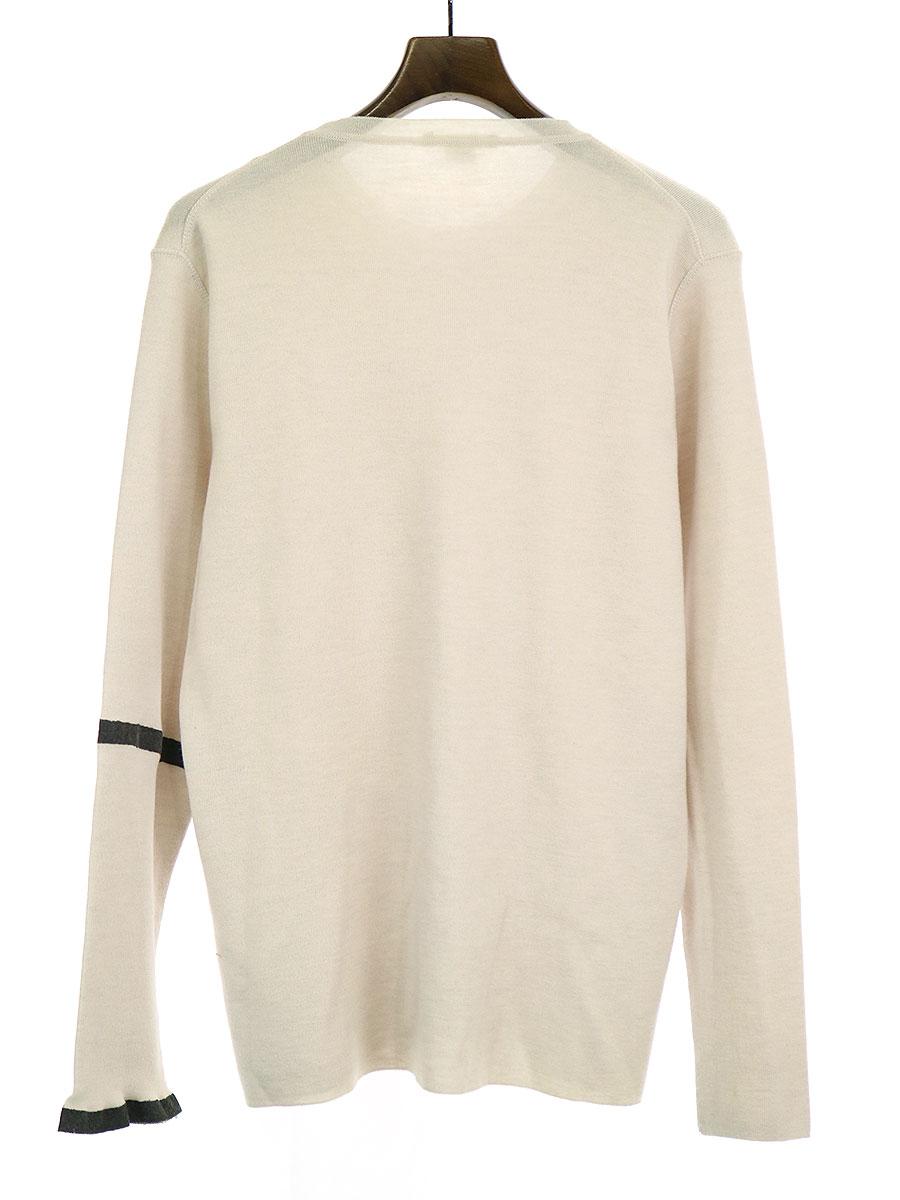 コーティングラインメリノウールニットセーター