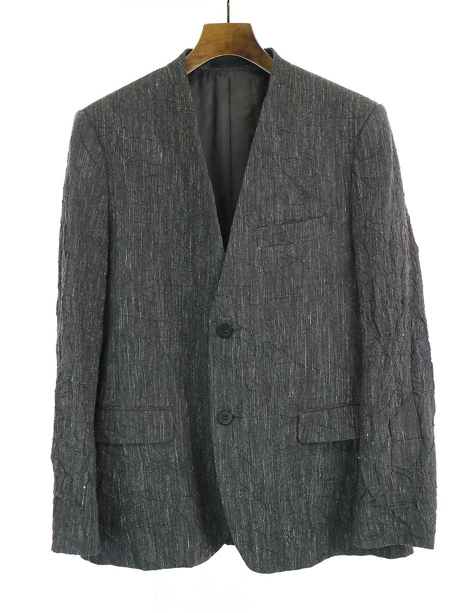 コットンキュプラシワ加工ジャケット