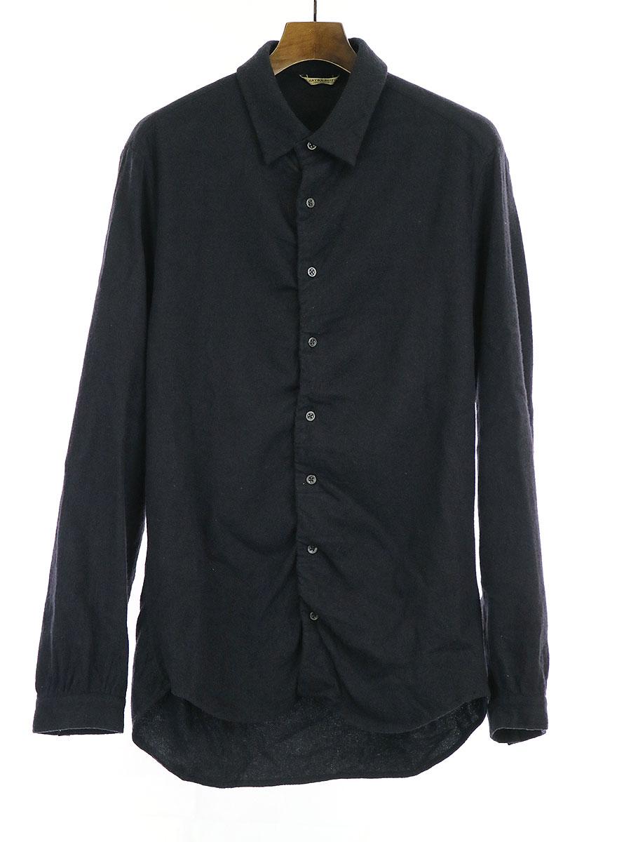 ウール長袖シャツ