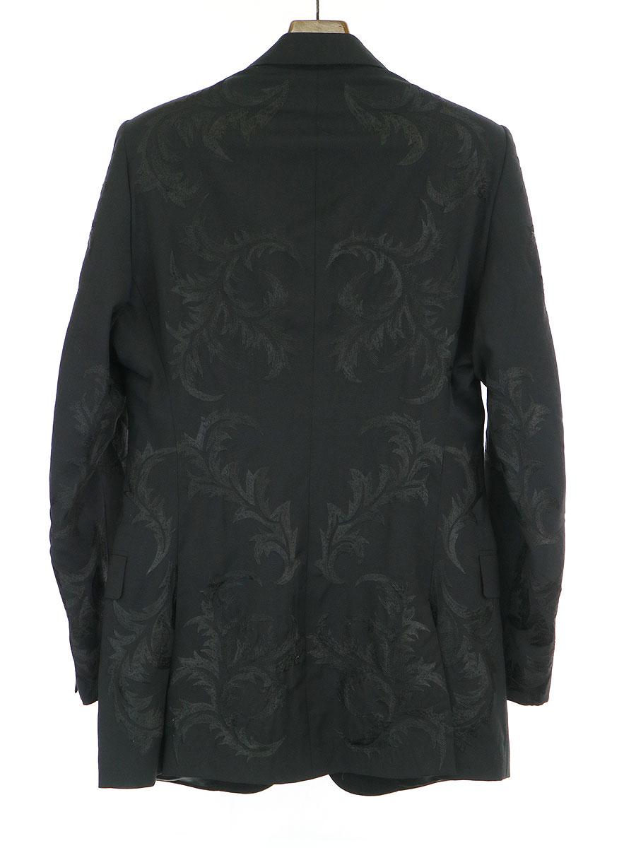 Embroidered Wool Jacket 刺繍テーラードジャケット