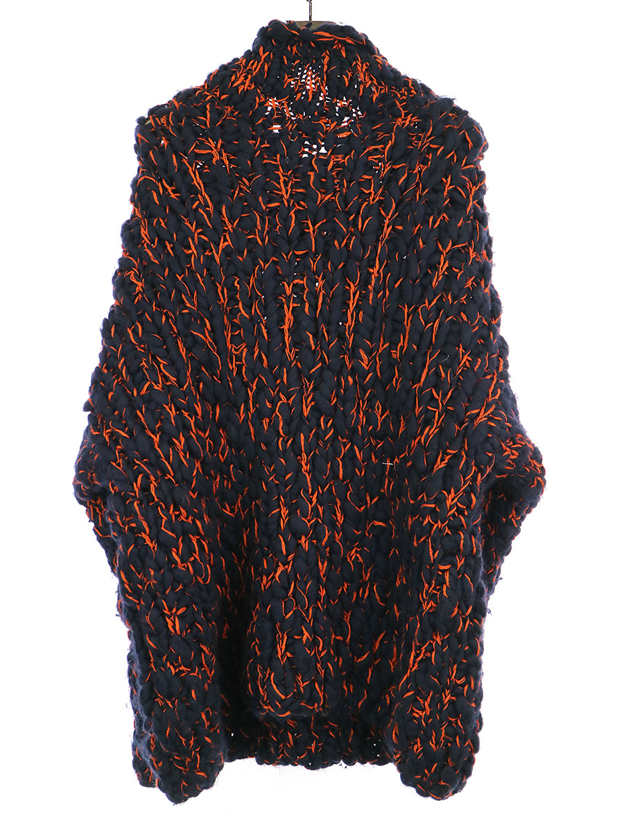 Big Knit オーバーサイズウールニットセーター