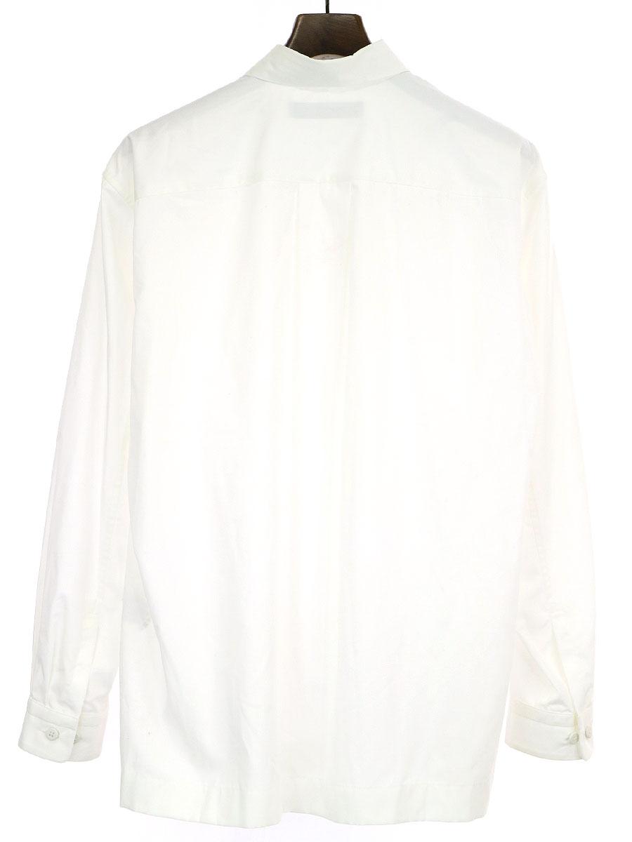 コットンポリエステルレギュラーカラーシャツ