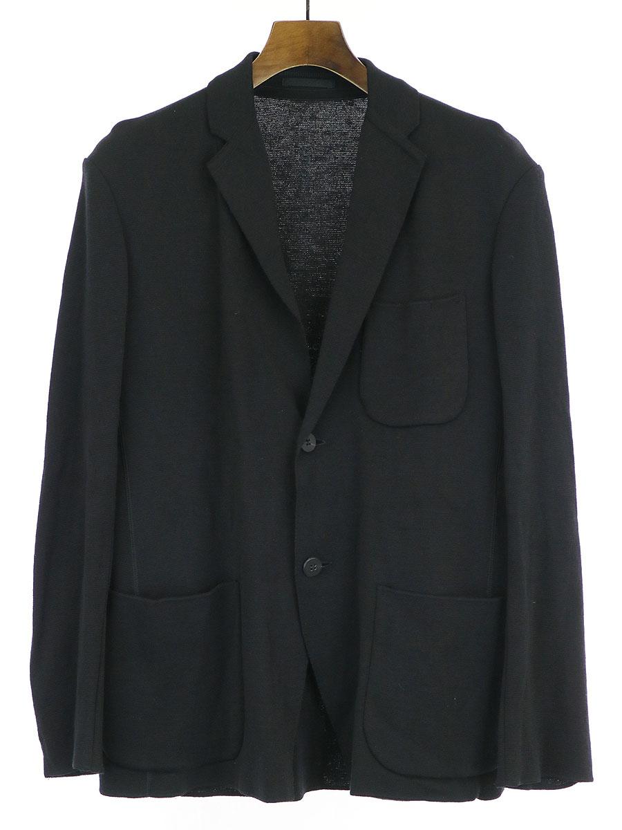 ウールニット2Bジャケット