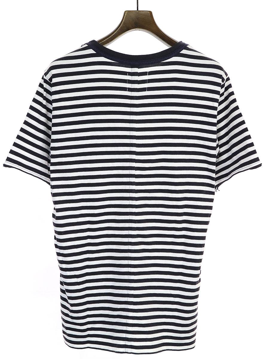 ボーダープリントTシャツ