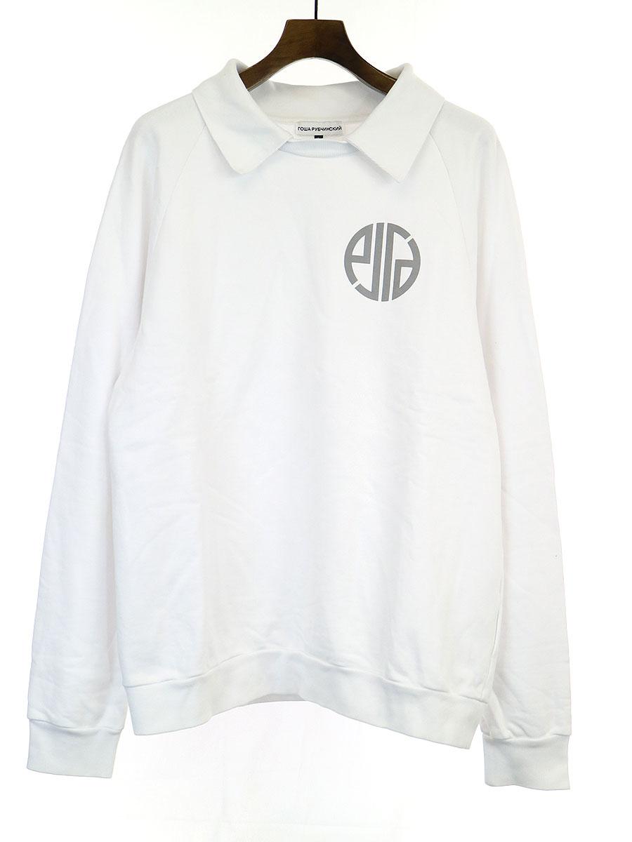 Collared Sweatshirt 襟付きスウェットトレーナー