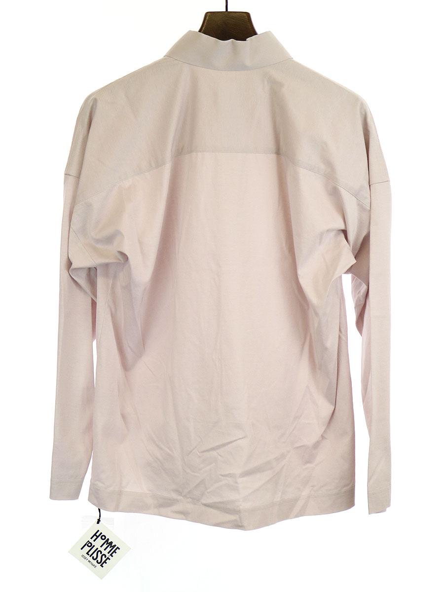 カッタウェイカラーシャツ