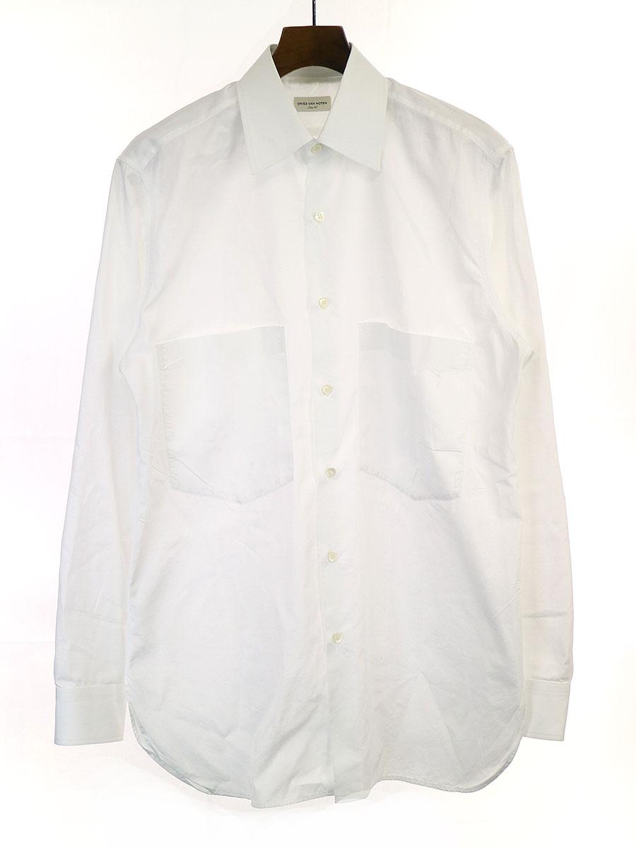 オーバーサイズコットンシャツ