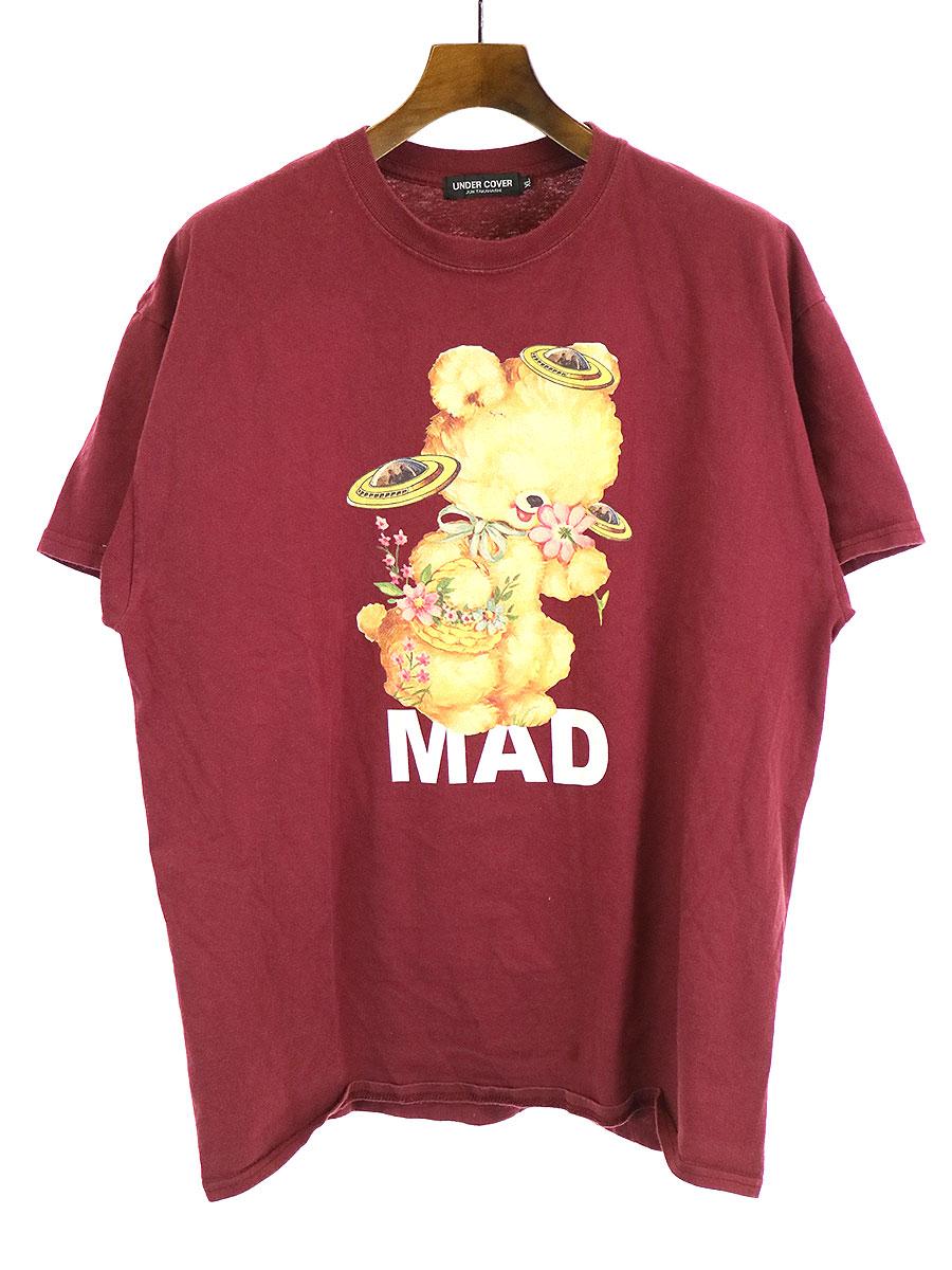 MADSTORE フラワーベアーTシャツ
