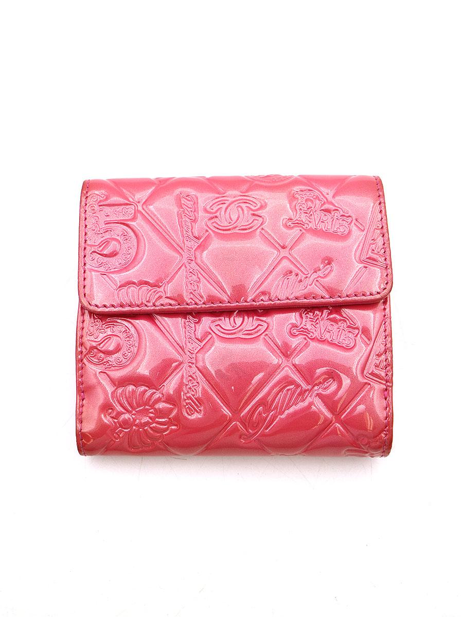 アイコン Wホックパテント二つ折りウォレット 財布