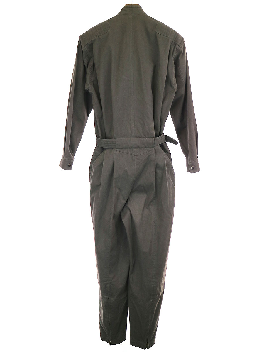 80's ベルテッドフライトジャンプスーツ