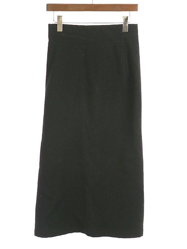 LOOK19 カーブカッティングフラノウールスカート