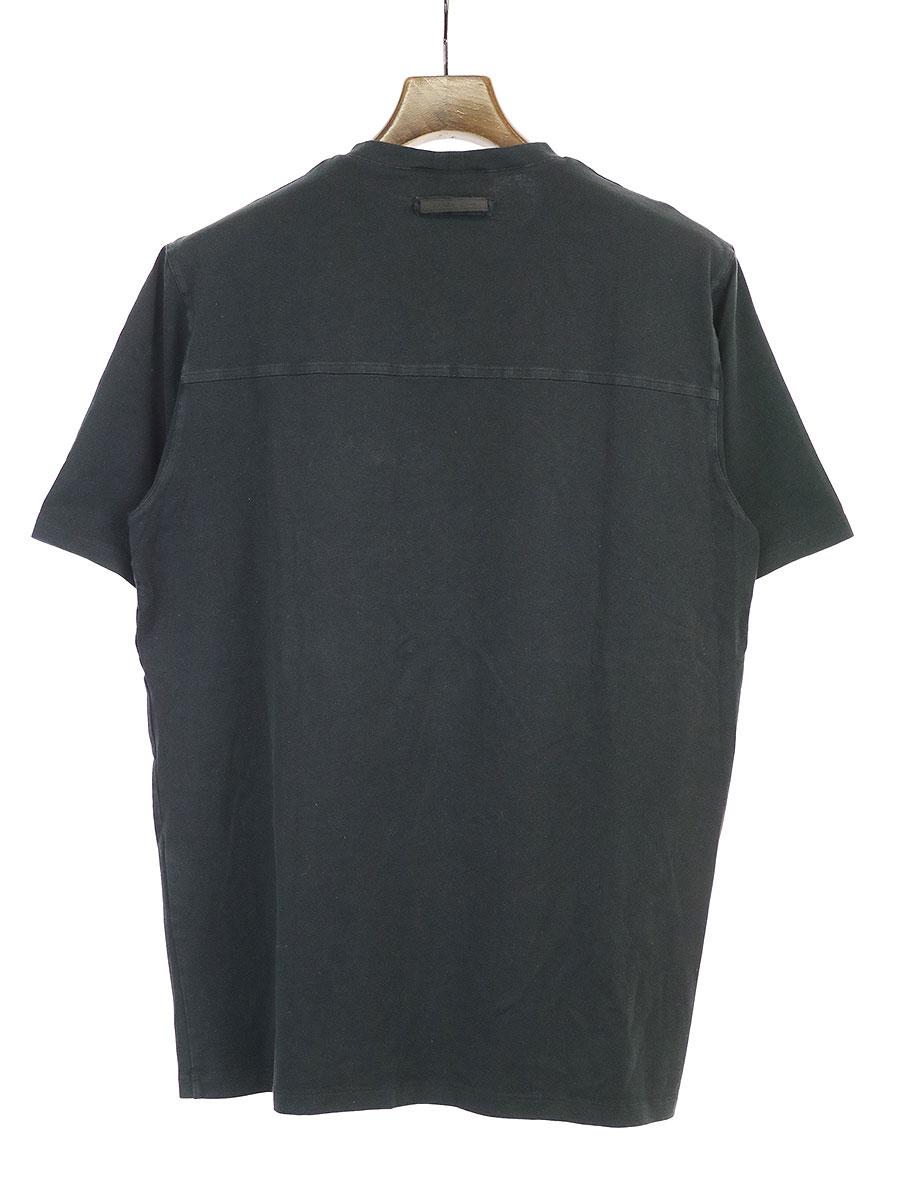 ストレッチコットンジップポケットTシャツ