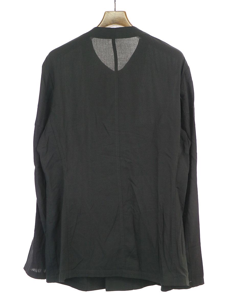 レーヨンキャンブリック一重シャツ仕立てジャケット