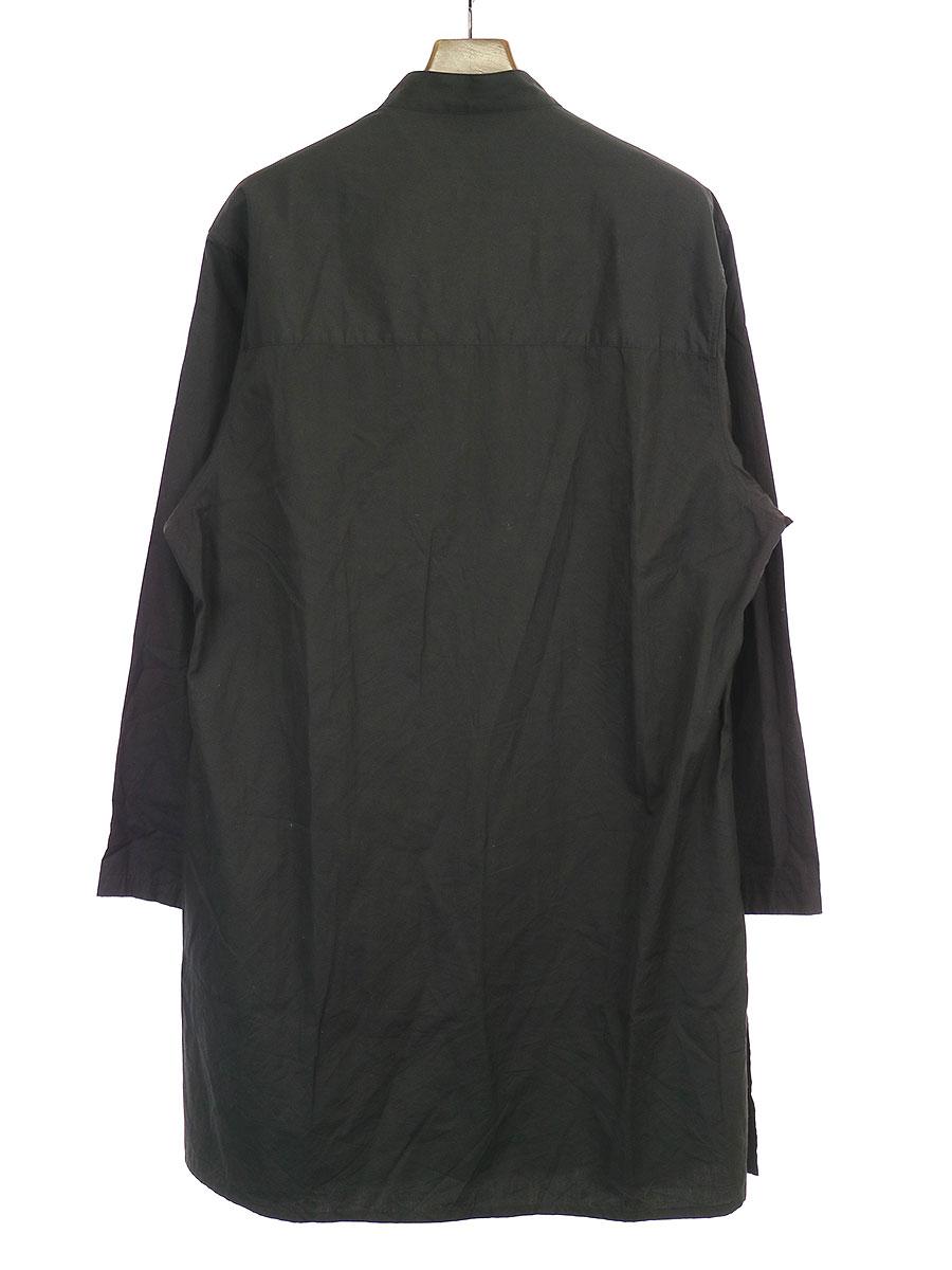 100/2ブロードロングチャイナシャツ