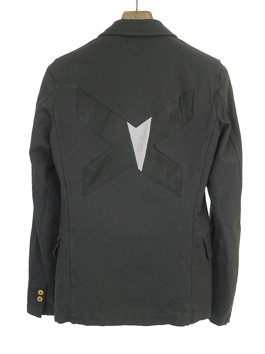 背面メッシュポリエステル縮絨2Bジャケット