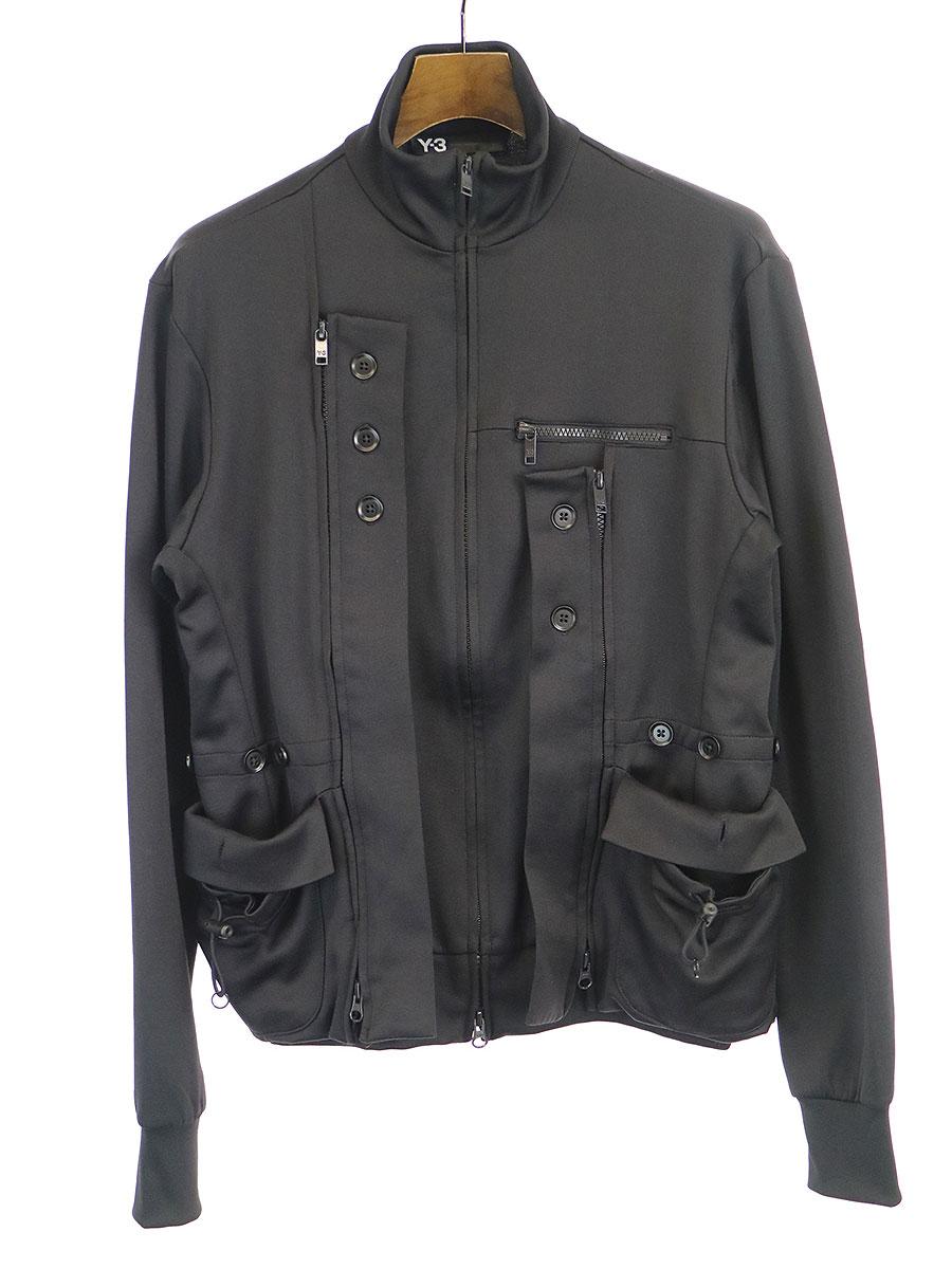 ミリタリーデザイントラックジャケット