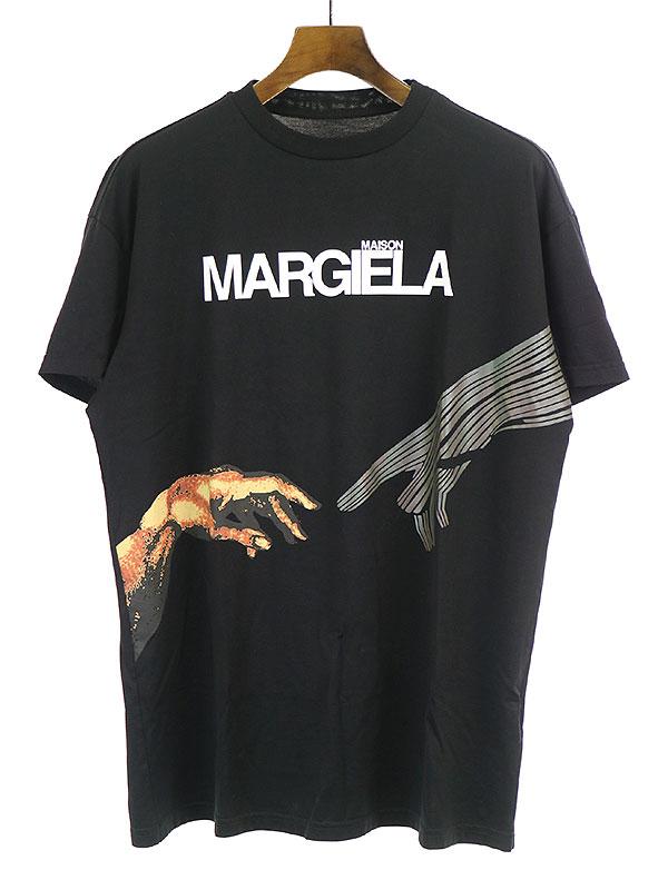 MAKO LOGO TEE ロゴプリントコットンジャージーTシャツ