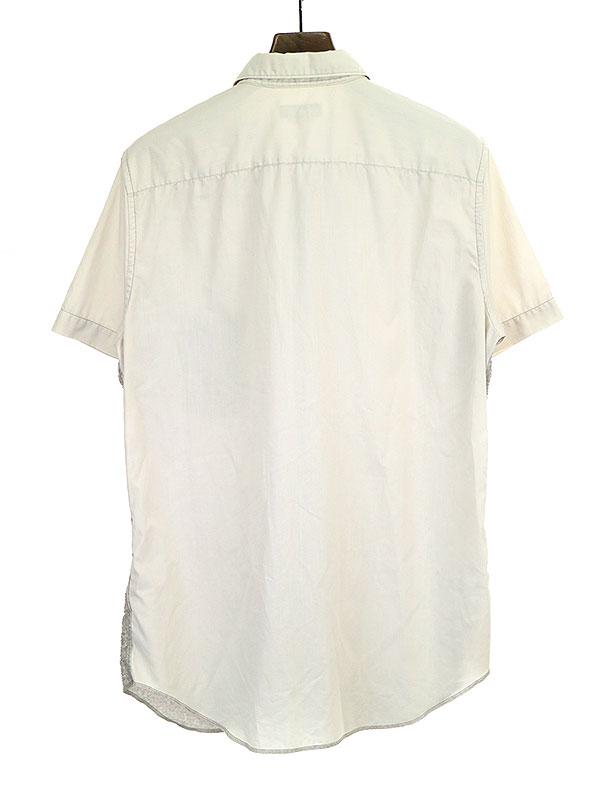切替ショートスリーブシャツ