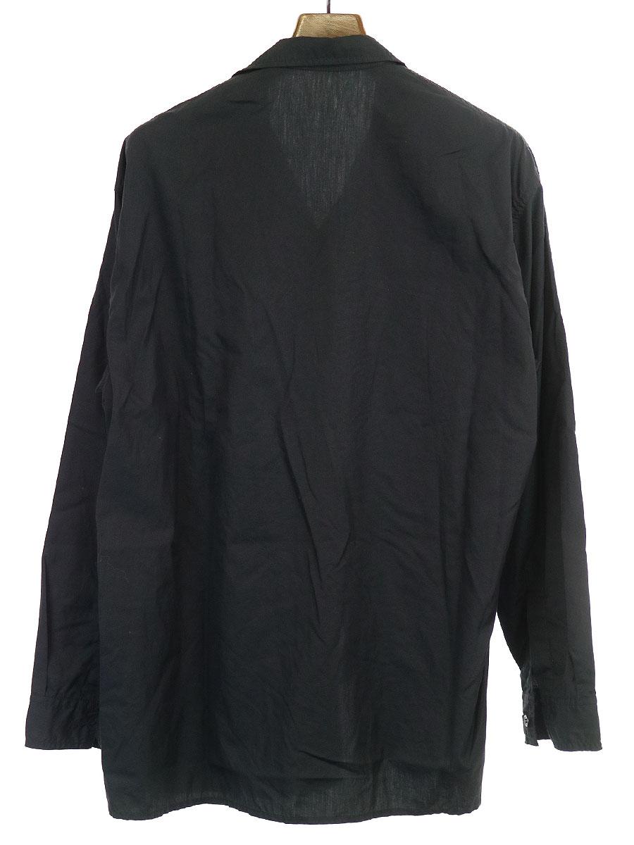 環縫いリボンシャツ