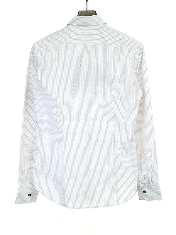 ペイントストライプシャツ