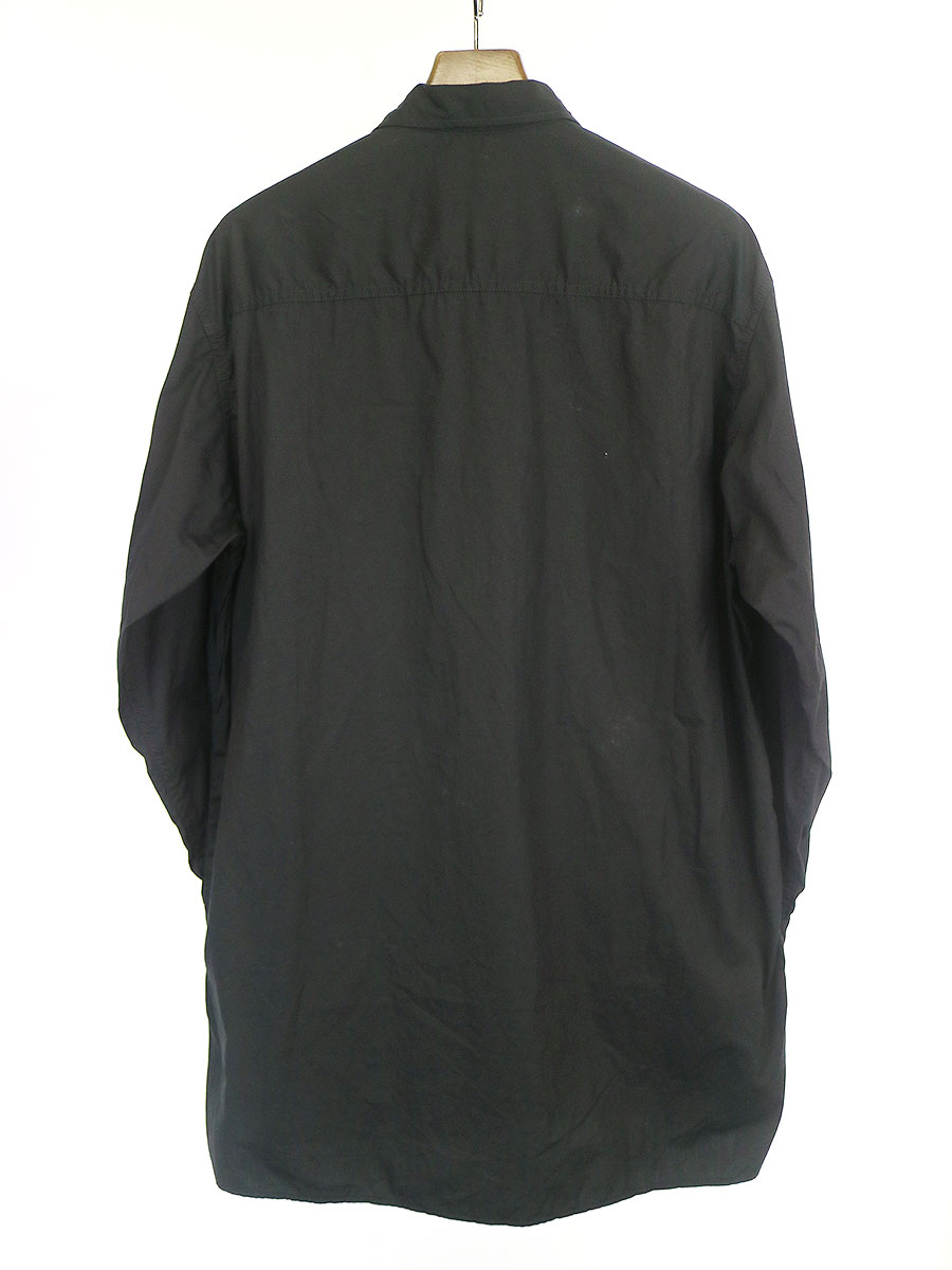 ループカラーオーバーシャツ
