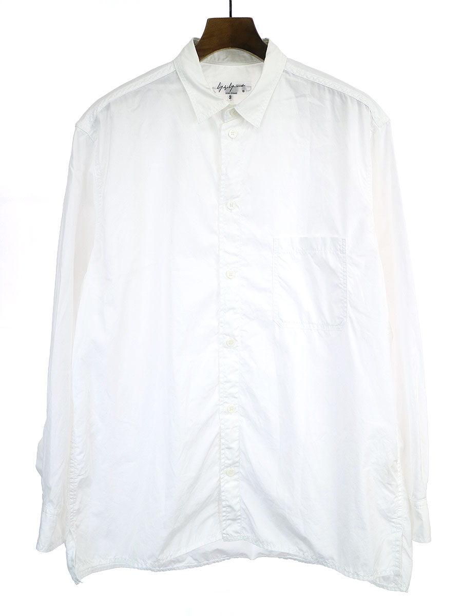 台襟環縫いブロードシャツ
