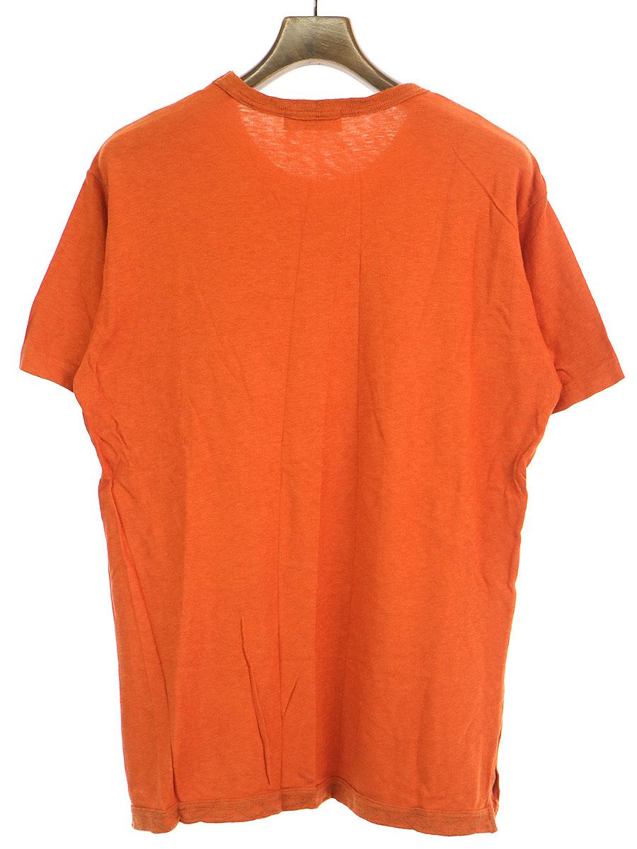 製品染めコットンジャージーTシャツ