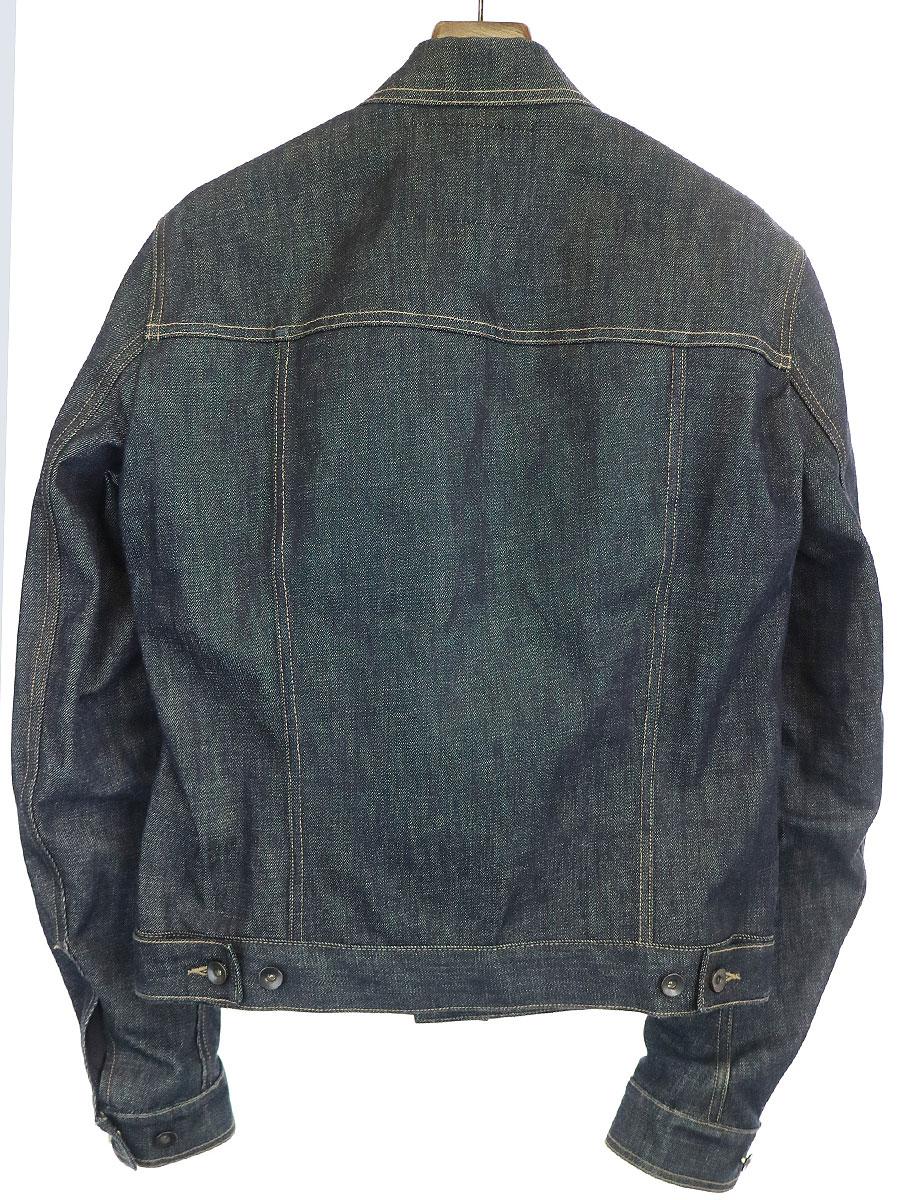 テクチュアルジャケット デニムジャケット