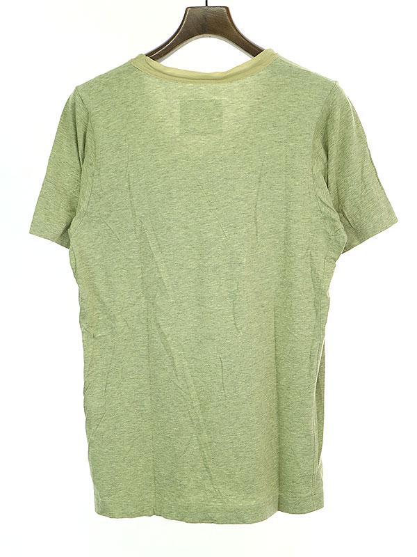UネックポケットTシャツ
