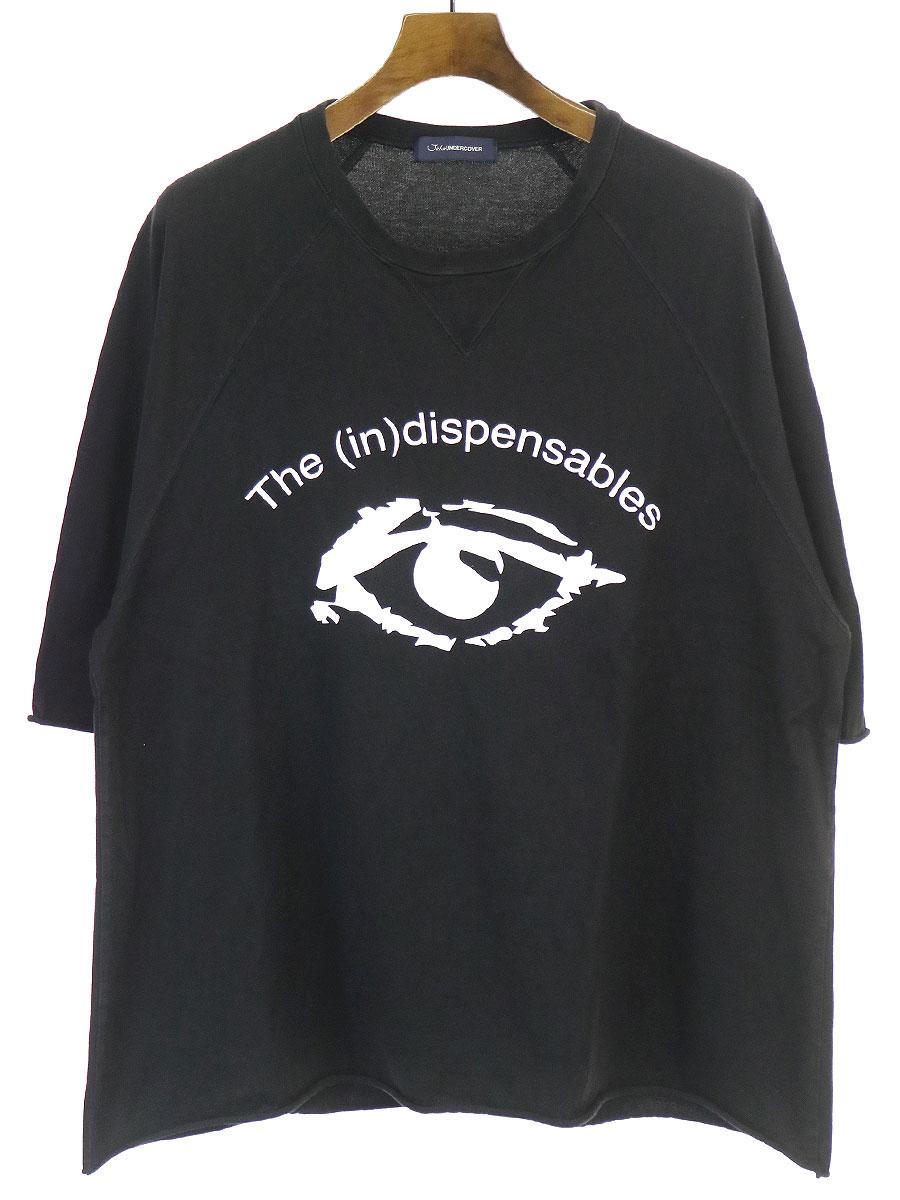 EYEプリントオーバーサイズTシャツ