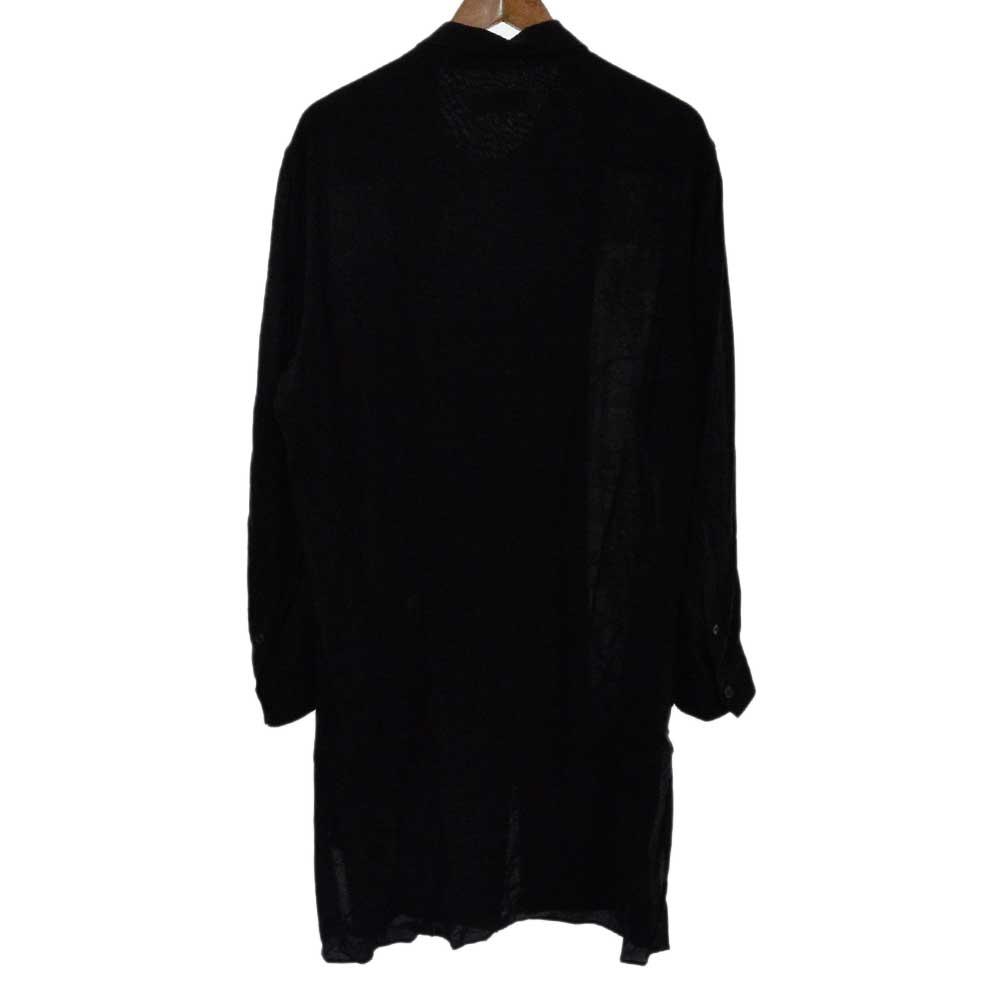 全部やって死ね ロングシャツ ブラウス 長袖シャツ HH-B40-222-1A
