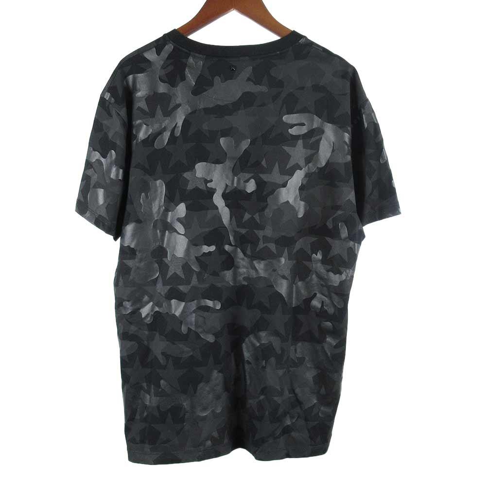 カモフラスタープリント半袖Tシャツ